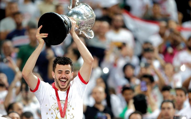 الصورة: الزمالك بطلاً لكأس مصر للمرة الـ 26