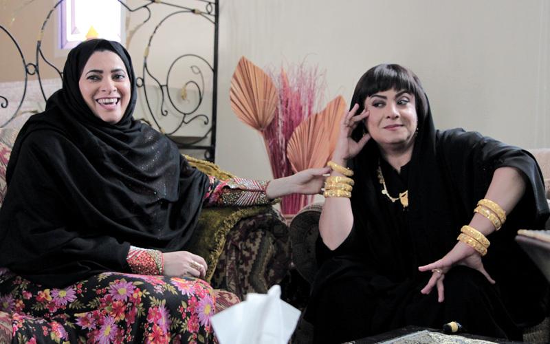 مشهد من مسلسل «البشارة» الذي سيعرض في 30 حلقة. من المصدر