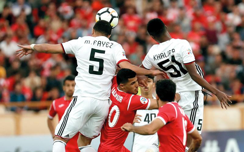 الجزيرة ودّع دوري أبطال آسيا من دور الـ16. أ.ف.ب