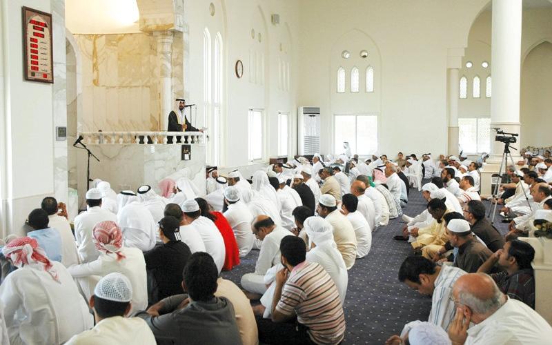 الصورة: «قانون رعاية المساجد» يحظر الدروس والتبرعات دون ترخيص