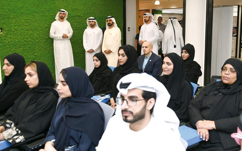 الصورة: محمد بن راشد: عبور العالم العربي إلى المستقبل يتطلب تمكين الشباب من مفاتيح المعرفة