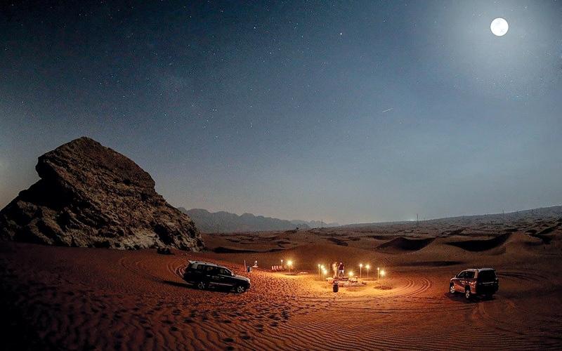 الصورة: مليحة في رمضان.. فعاليات على ضوء المشاعل