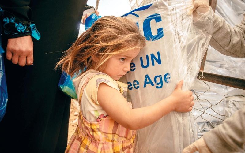 الصورة: «القلب الكبير» تطلق حملة لدعم الأطفال اللاجئين السوريين