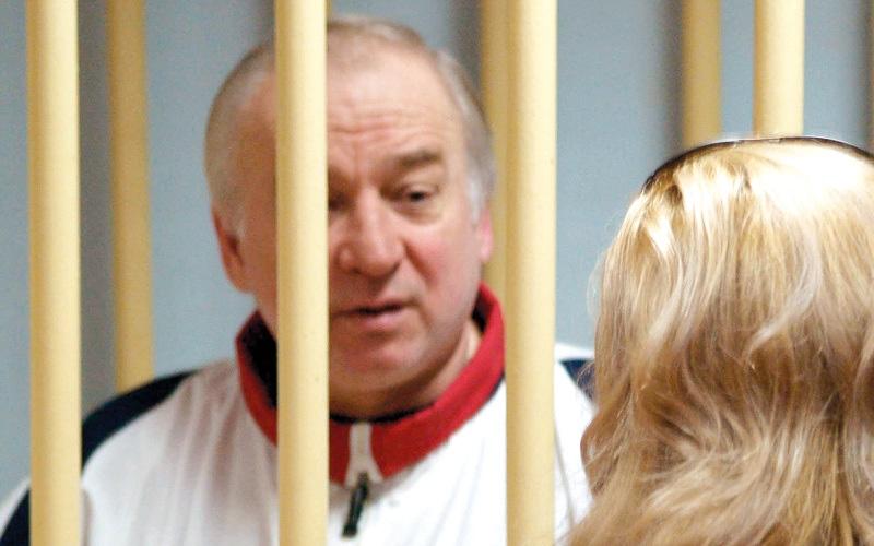 الصورة: الجاسوس الروسي السابق سكريبال يغادر المستشفى