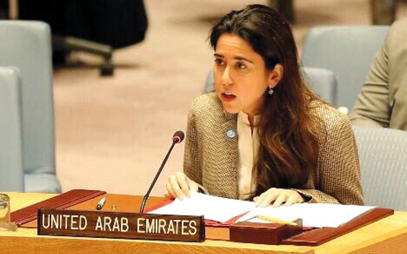 الصورة: الإمارات تؤكد استعدادها لتعزيز ركائز القانون الدولي