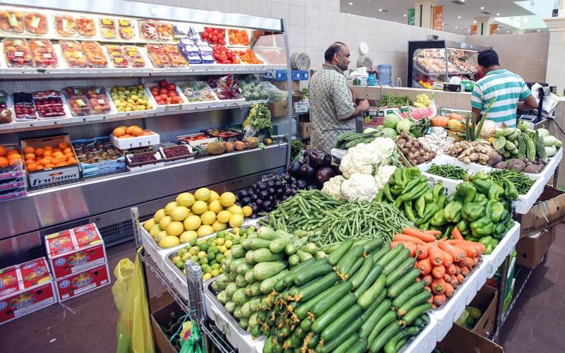 الصورة: ارتفاعات محدودة بأسعار خضراوات في منافذ بيع