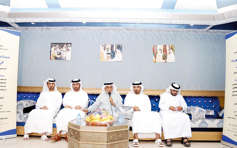 الصورة: راشد شرار: المجالس جزء مهم من المكون الإماراتي