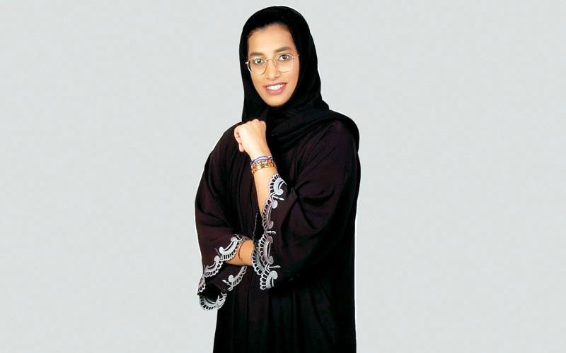 الصورة: أول مرة..عائشة الزعابي: صمتُ في الـ7 وادَّعيتُ التعب في الإعدادية