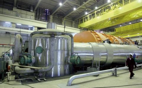 الصورة: إيران حذرة إزاء تعهدات الاتحاد الأوروبي بشأن الاتفاق النووي