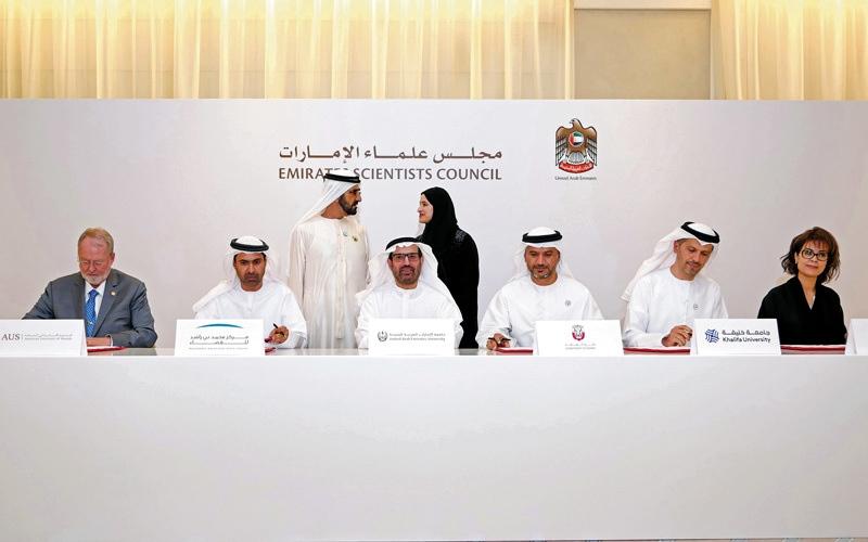 الصورة: محمد بن راشد: الإمارات نموذج عالمي في استثمار الطاقات البشرية