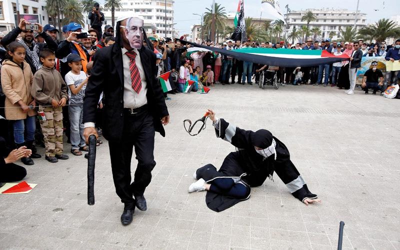 الصورة: باراغواي ثالث دولة تفتتح سفارتها في القدس وسط تنديد عربي وإسلامي
