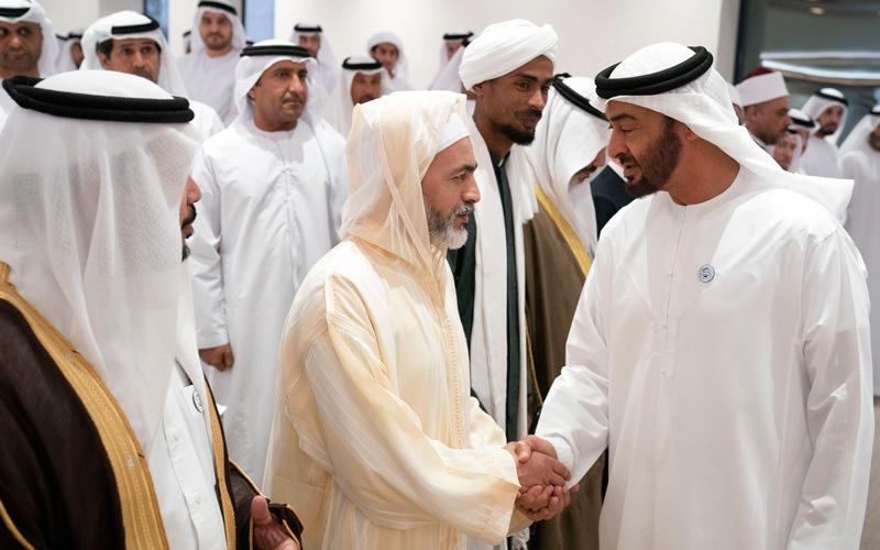 الصورة: محمد بن زايد: الإمارات تعمل على بناء إنسان متعايش مع مختلف الأديان والثقافات