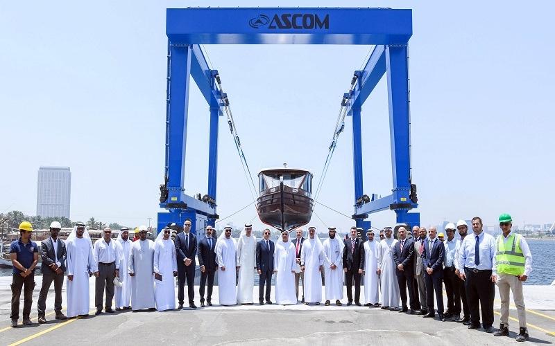 الصورة: طرق دبي تدشن ورشة القرهود لصيانة وسائل النقل البحري
