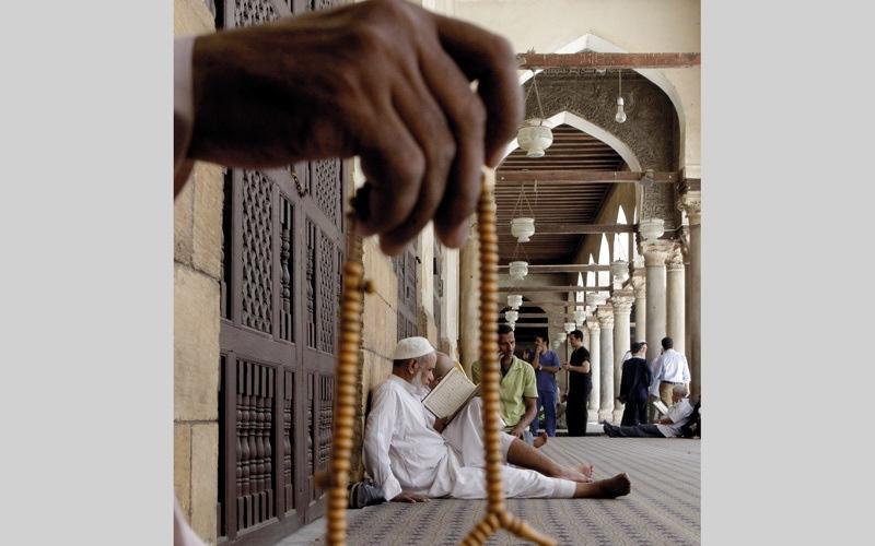 الصورة: رحالة مغربي.. ويوميات رمضانية في جوار الأزهر المعمور