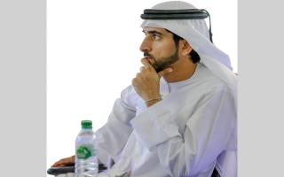 الصورة: حمدان بن محمد يعيّن مديرين تنفيذيين في هيئة الصحة بدبي