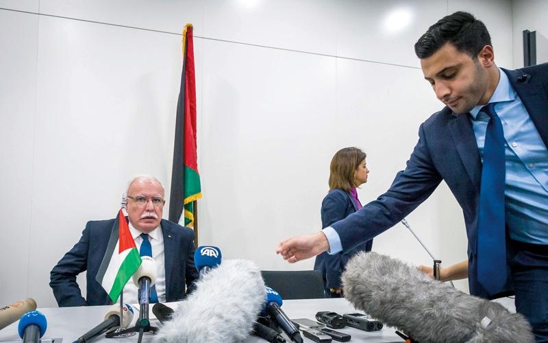 الصورة: فلسطين تحيل ملف الاستيطان إلى «الــجنائية الدولية».. وإسرائيل تشكك في السند القانـوني