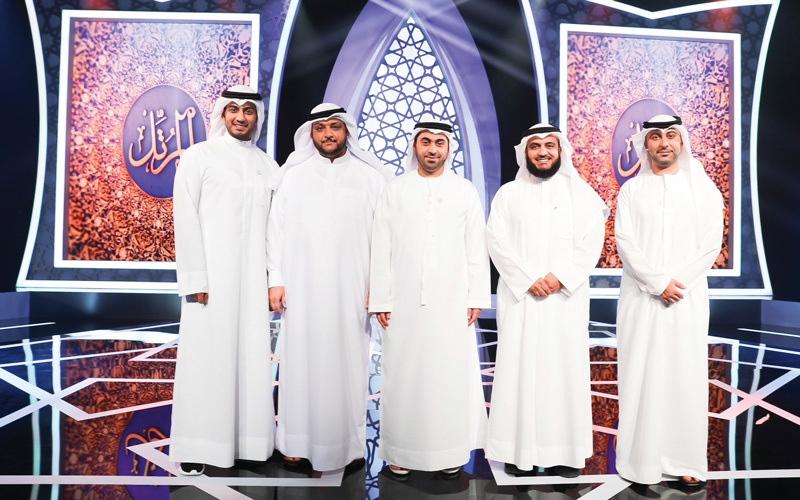 الصورة: انتهاء المرحلة الأولى من منافسات «المرتل» على «سما دبي» و«نور دبي»