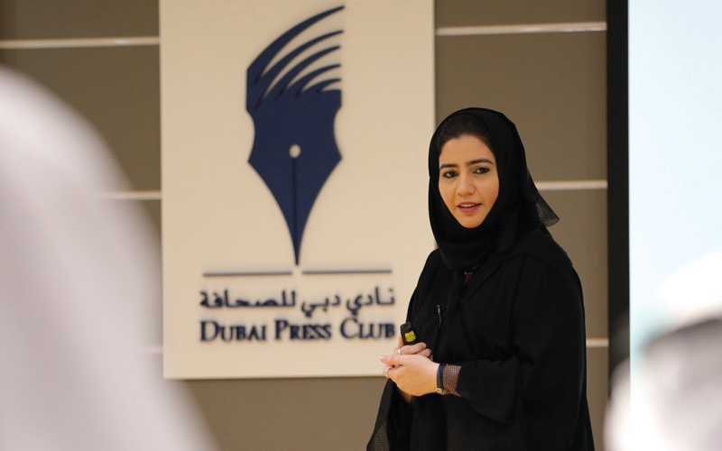 الصورة: مهارات «المونتاج» و«الإنفوغراف» في «دبي للصحافة»
