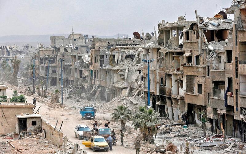 الصورة: دمشق تؤكد أن انسحاب القوات الإيرانية و«حزب الله» غير مطروح