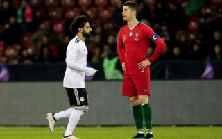 رونالدو: محمد صلاح قصير ولا يشبهني