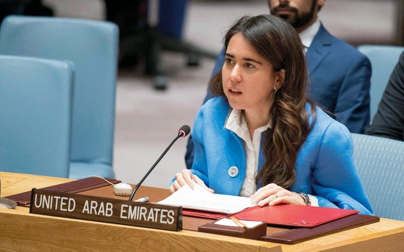 الصورة: الإمارات تدعو المنظمة الدولية للانضمام إليها في التزامها بحماية المدنيين