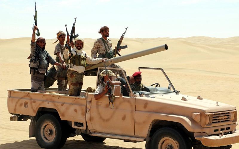 الصورة: الجيش اليمني يحرّر مناطق جديـــــدة في جبهات حجة وصعدة والبيضاء