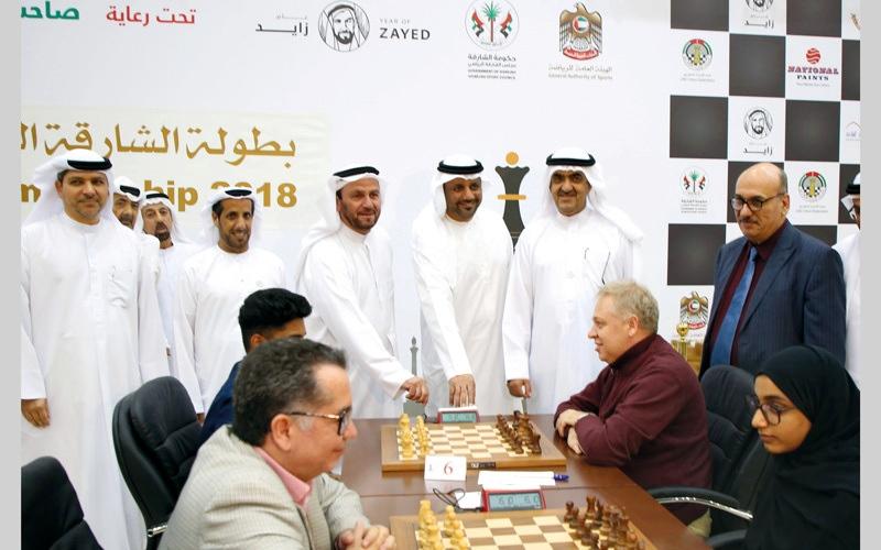 الصورة: انطلاقة قوية لـ «أذكياء الإمارات» في «شطرنج الشارقة»