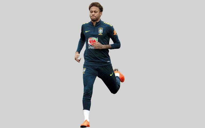 الصورة: مدرب اللياقة البدنية للبرازيل: نيمار أقوى بعد الإصابة