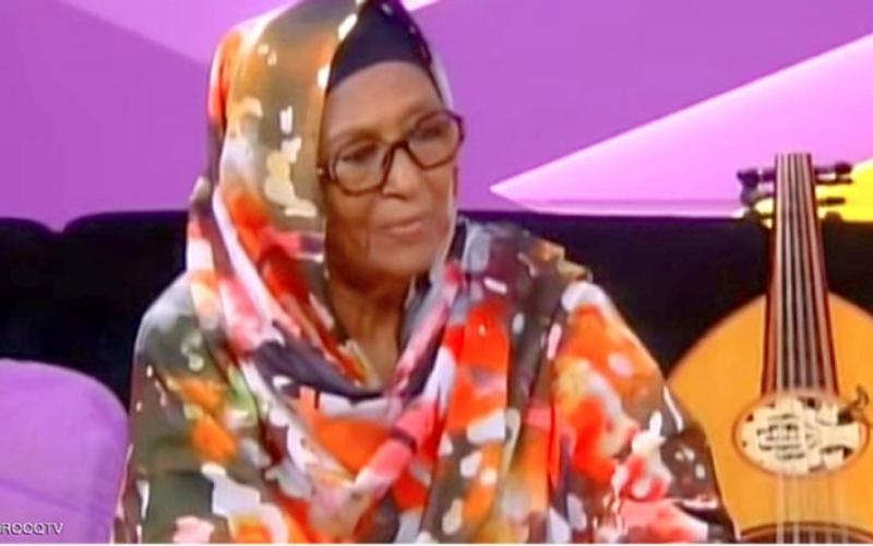 الصورة: رحيل أميرة العود وأول ملحنة في السودان