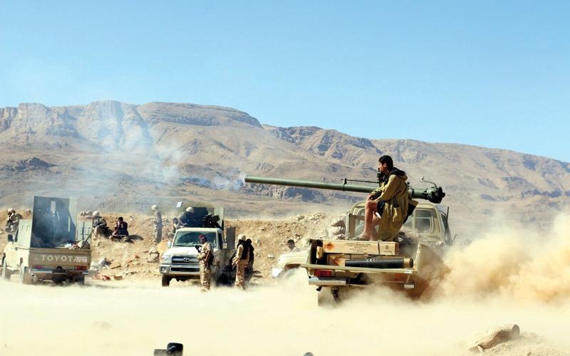 الصورة: المقاومة اليمنية تسيطر على مفرق زبيد والفازة بإسناد إماراتي وسودانـــــي