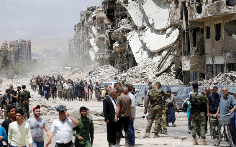 الصورة: جيش النظام السوري يرسل تعــــــزيزات إلى درعا ويُحذِّر من عملية عسكرية وشـــــيكة