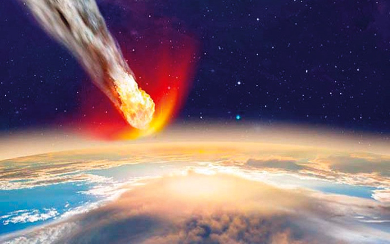 الصورة: في عام 2135 انتبه لرأسك.. كوكبٌ ما قد يسقط الآن