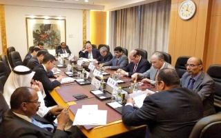 الصورة: سفير اليمن لدى الصين يُطلع السفراء العرب على مستجدات «الأزمة»