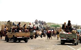 الصورة: «تحالف دعم الشرعية»: القـوات اليمنية على بُعد 20 كلم من مدينـة الحديدة