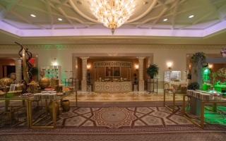 """الصورة: بالصور .. فندق """"غراند حياة"""" يقدم إفطار رمضاني بأطباق عالمية"""
