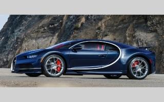 الصورة: 12.27 مليون درهم سعر النسخة رقم 100 من «Bugatti Chiron»