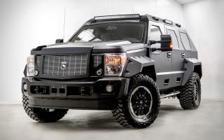 الصورة: «رهينو GX Executive Edition» سيارة عسكرية للاستخدام المدني