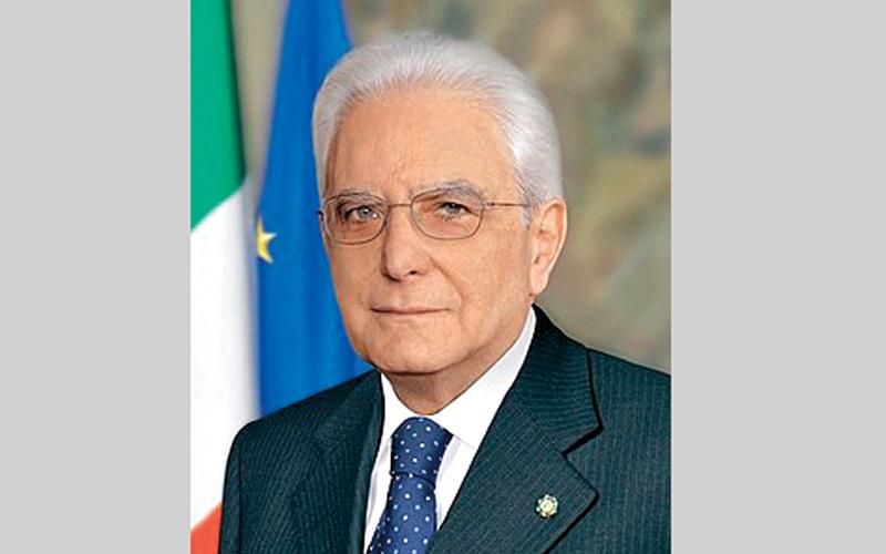ماتاريلا أول رئيس إيطالي يتدخل في تشكيل الحكومة الإيطالية بعد الحرب العالمية الثانية. أرشيفية