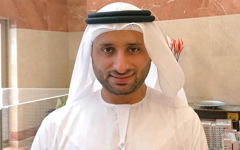 عبدالله بن سليم:  «عدد الوحدات  المبيعة بلغ 661  وحدة سكنية، بقيمة  301.8 مليون  درهم».