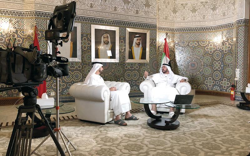 حلقة خاصة من برنامج «سند» تُبرز مساعي الشيخ زايد الإنسانية.  من المصدر