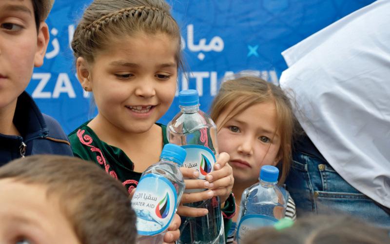 «سقيا الإمارات» تسلط الضوء على مشكلة شح المياه النظيفة حول العالم. من المصدر