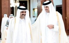 الصورة: مسؤولون قطريون يناقشون قضايا «الصفقات» مع محامي ترامب