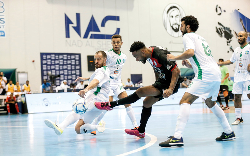 «الإمارات للسياقة» فاز على «الطاهر» ويلاقي «البحري» في المباراة النهائية. من المصدر