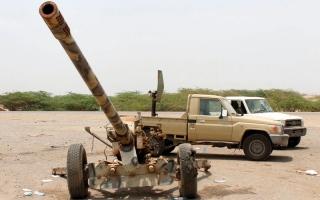 الصورة: بإسناد التحالف.. المقاومة اليمنيـة تتقدم في الأطراف الجنوبية للحديدة