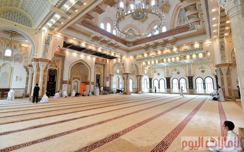 الصورة: مسجد راشد بن مكتوم آل مكتوم