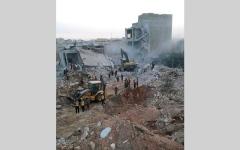 الصورة: 51 قتيلاً مدنياً في قصف على إدلب.. وروسيا تنفي شنَّ أي غارات