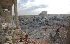 الصورة: «داعش» يتراجع إلى أطراف البوكمال إثر معارك عنيفة مع قوات النظام