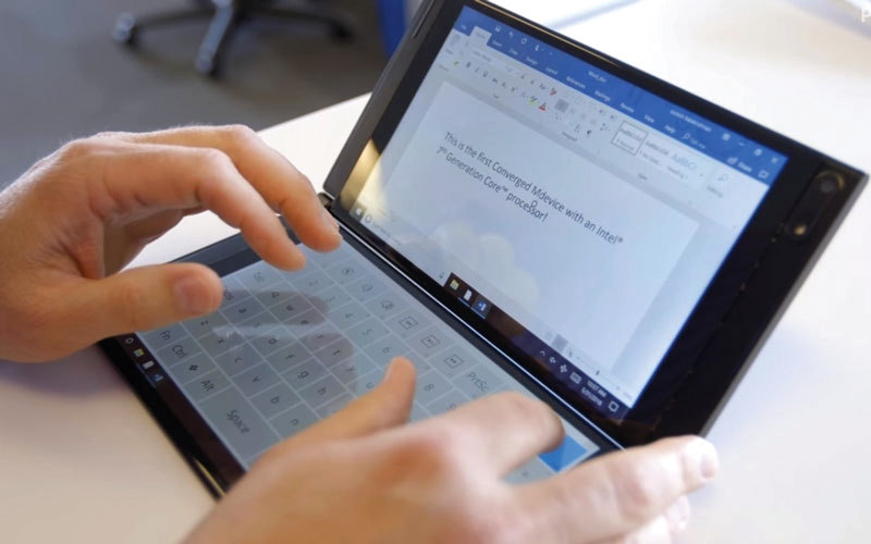 الصورة: شركات تقنية تكشف عن 4 تطورات تطال الحاسبات المحمولة