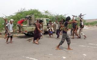 الصورة: المقاومة اليمنية تصل مشـارف الحديدة وتطالب الميليشيات بالاستـسلام