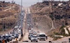 الصورة: مقتل 15 مدنياً في غارات لقوات النظام  على محافظة إدلب